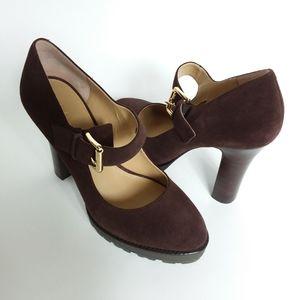 Michael Kors   Leather High Heel Sandal NWOT
